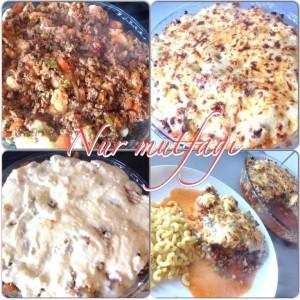 Kıymalı beşamel soslu Karnıbahar oturtması, firinda oturtma yemegi, karnibahar yemegi