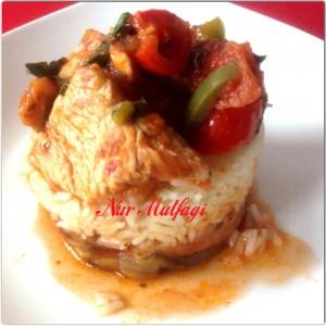 hindi etinden patliican kebab