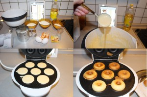 Donutmaker- mini Donuts, donat nasil yapilir, makinede donat yapimi ve tarifi