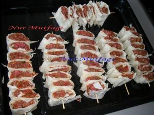 Yufkali cöp Sis Kebab, beyti kebabi tarifi