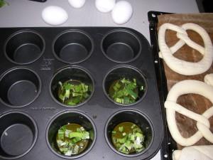 firinda yumurta