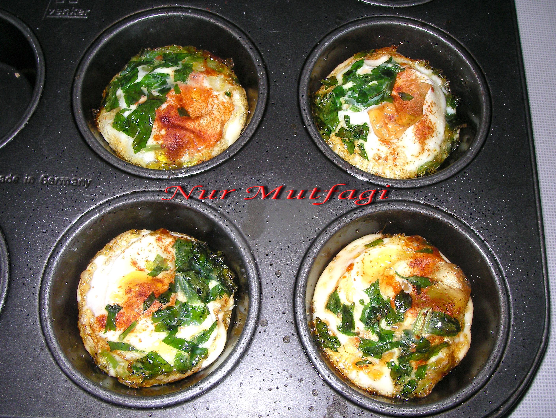 Fırında Yumurta