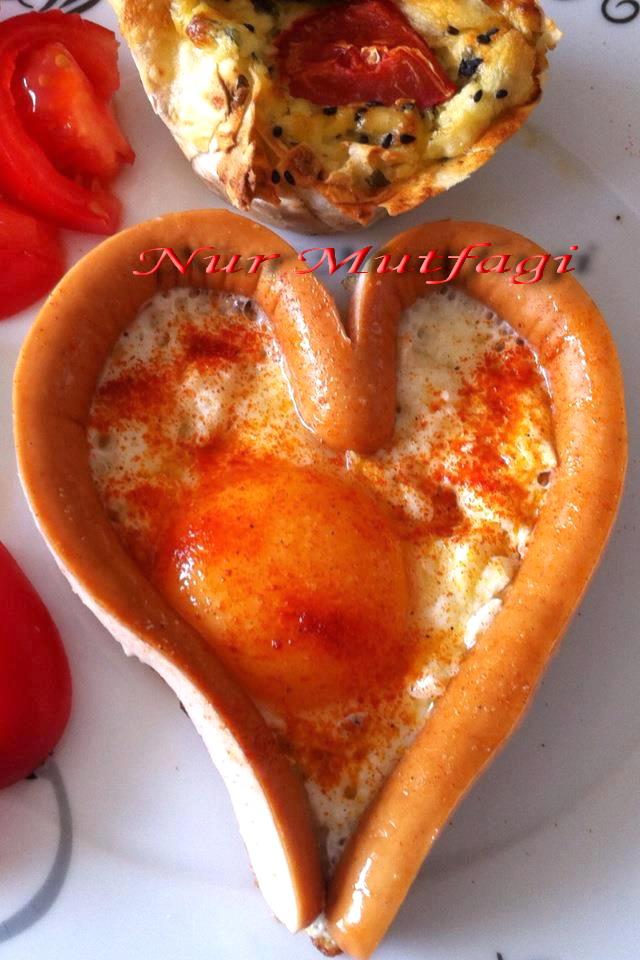 kalpli sosili yumurta