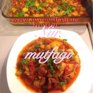 kuzu bonfile sebzeli firin kebab (1)