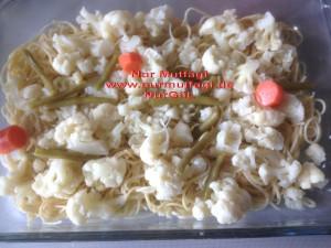 besamel soslu firinda hindi köfteli sebzeli spagetti  (4)