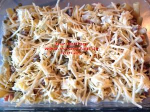 firinda etli sebzeli makarna (1)