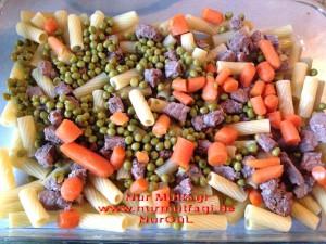 firinda etli sebzeli makarna (7)