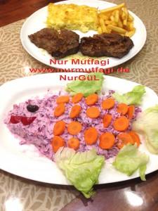 morlahana salatasi et kizartmasi firinda kremali makarna (7)