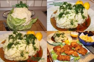 Karnibahar Salatasi, blumenkohlsalat, balik salatasi