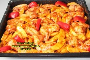 firinda patatesli baharatli tavuk kanadi tarifi (2)