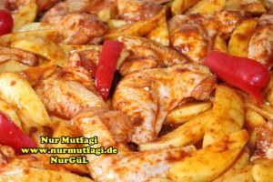 firinda patatesli baharatli tavuk kanadi tarifi (3)