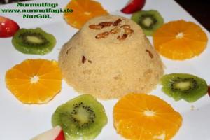 irmik helvasi dondurmali meyve sunumlu (11)