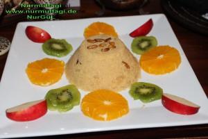 irmik helvasi dondurmali meyve sunumlu (8)
