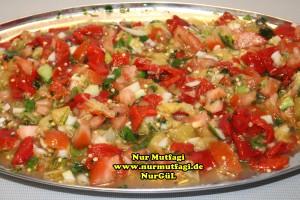 közlenmis patlican salatasi, babagannus salatasi (2)