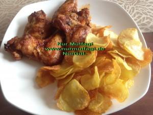 patates chipsi tavuk kanadi kizartmasi (2)