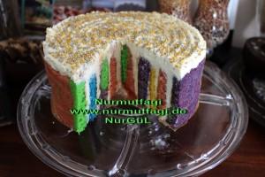 5 renkli gökkusagi pastasi regenbogen torte (2)