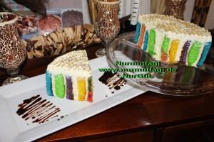5 renkli gökkusagi pastasi regenbogen torte (87)