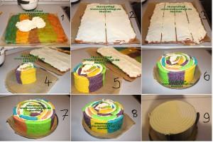 5 renkli gökkusagi pastasi regenbogen torte set 4 (32)
