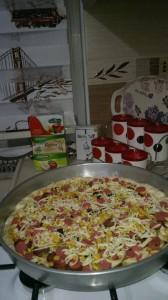ev pizzasi