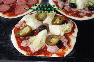 mini pizza salamli, tonbalikli, kiymali (7)