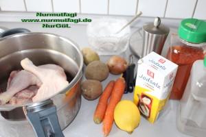 düdüklü tencerede sebzeli tavuk tandir  (1)