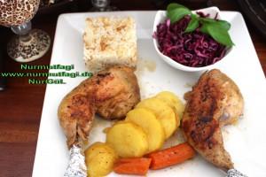 düdüklü tencerede sebzeli tavuk tandir  (20)