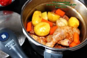düdüklü tencerede sebzeli tavuk tandir  (4)