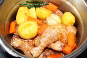 düdüklü tencerede sebzeli tavuk tandir  (5)