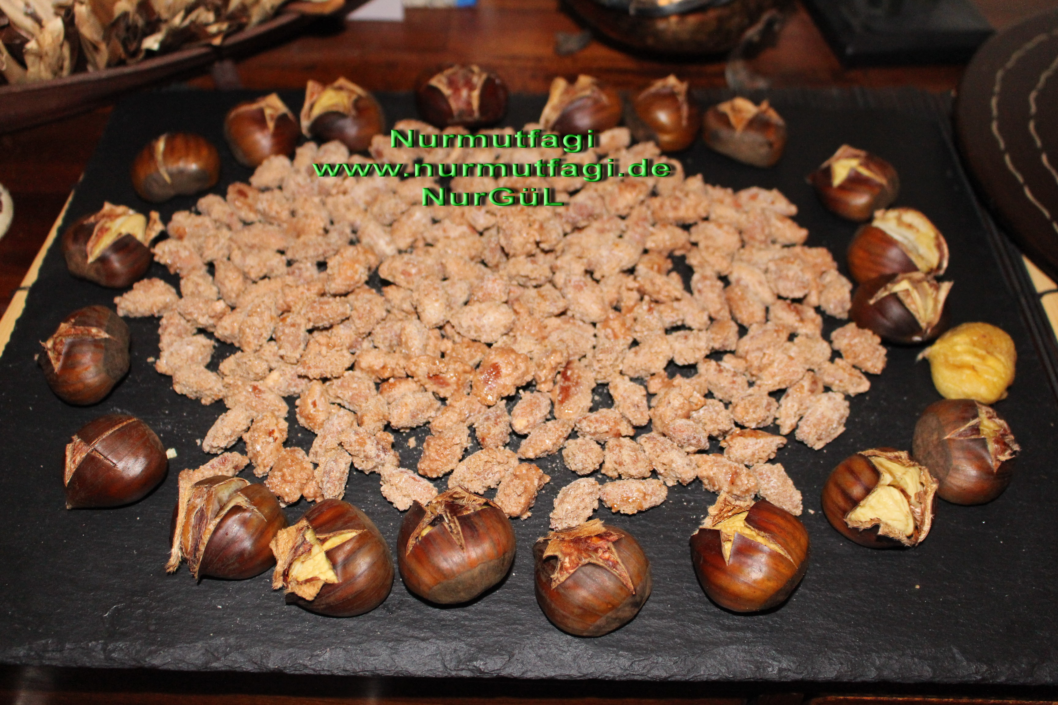 Gebrannte Mandeln – Sekerli Kavrulmus Badem