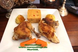 tavuk suyu ve tavada haslama tavuk kizartma bulgur pilavi  (12)