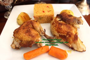 tavuk suyu ve tavada haslama tavuk kizartma bulgur pilavi  (13)