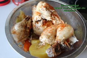 tavuk suyu ve tavada haslama tavuk kizartma bulgur pilavi  (9)