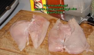 tost makinesinde yagli kagit ile tavuk eti izgara (1)