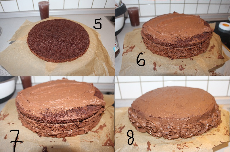 yemek: pandispanya yaş pasta kreması [20]