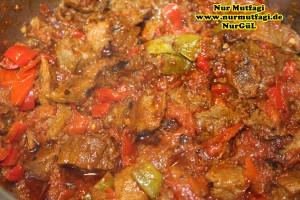 Düdüklü tencerede et sote tas kebabi (3)