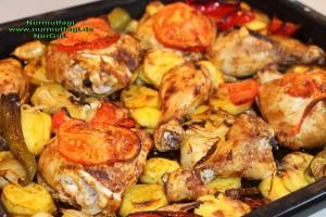 firinda sebzeli tavuk incik  (3)