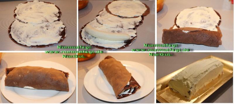 Krep Yaş Pasta Tarifi