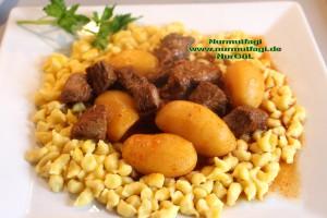 Patatesli Et Yemegi Gulasch