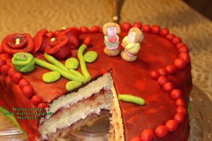 kalpli pasta sevgililer günü (41)