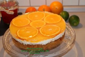 portakalli pasta cheesecake cizkek (24)