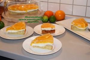 portakalli pasta cheesecake cizkek (36)