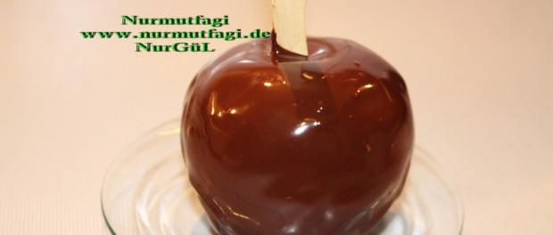 Çikolatalı Elma Şekeri Nasıl Yapılır Resimli Tarif