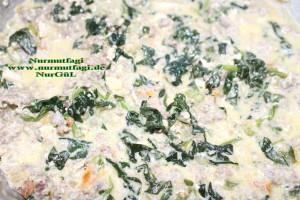 ispanak sosu kremali makarna (9)