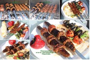 mangalda köfteli balcan kebabi set. (16)