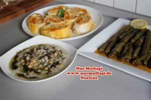 Sarma dizme sekli & yuvalama & 3 renkli börek (4)