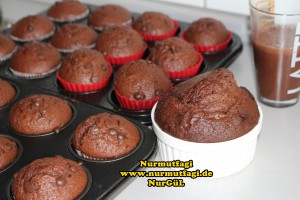 damla cikolatali kakalolu yumusacik muffin, cupcake