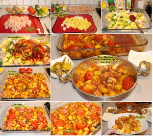 Tavuk kebabi firinda (2)