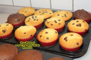 damla cikolatali muffin topkek - ici dolgulu kakaolu muffin (10)