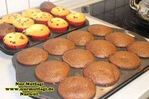 damla cikolatali muffin topkek - ici dolgulu kakaolu muffin (12)