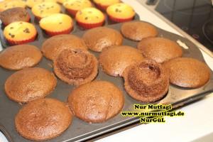 damla cikolatali muffin topkek - ici dolgulu kakaolu muffin (14)